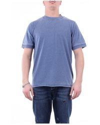 Alpha Studio Au2550c Crewneck T-shirt - Blauw