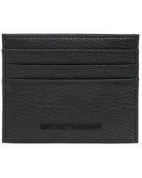 Emporio Armani Card Case - Zwart