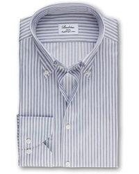 Stenströms Slimline Shirt 302 - Grijs