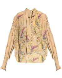 AllSaints Lara patterned shirt - Neutro