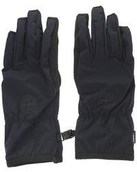 Stone Island Gloves - Blauw