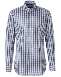 Kiton Plaid shirt - Weiß