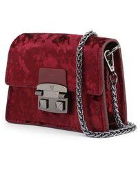 Trussardi Bag - Coriandolo_75B00555-99 Rojo