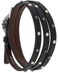 Alexander McQueen Bracelet - Zwart