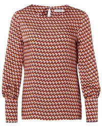 Louis and Mia Blouse - Rood