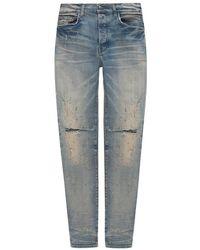 Amiri Stonewashed Jeans - Blauw