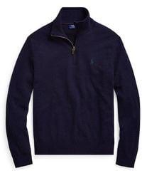 Polo Ralph Lauren Suéter de manga larga Azul