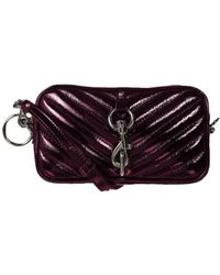 Rebecca Minkoff Camera Belt Bag - Paars