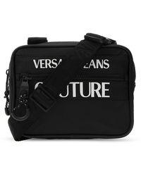Versace Jeans Logo Shoulder Bag - Zwart
