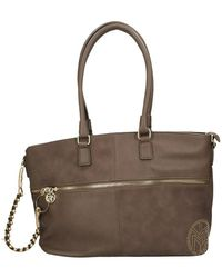 Y Not? Gio004f2 shopping bag - Marrone