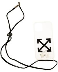 Off-White c/o Virgil Abloh Iphone 12 Pro Max Case - Wit