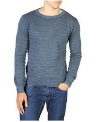Yes-Zee Knitwear 0349_M881_Zg00 - Blu