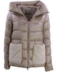 Herno Coat Marrón