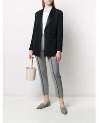 Fabiana Filippi Tapered trousers Gris