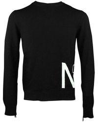 N°21 Pull Noir Homme - Zwart
