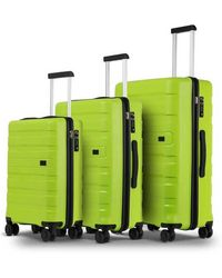 Conwood Santa Cruz luggage Superset M+l Acid Lime - Groen