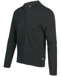 BLUE INDUSTRY Vest Rits Cardigan - Groen