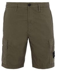 Stone Island - Cargo Shorts - Lyst