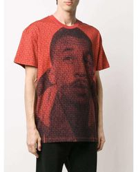Martine Rose T-Shirt Rojo