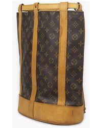 Louis Vuitton Randonnée PM Backpack Marrón - Multicolor
