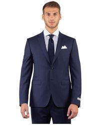 Barbour Abito blu di lana a quadretti - Bleu