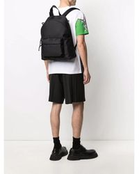 Valentino Strap Backpack Negro