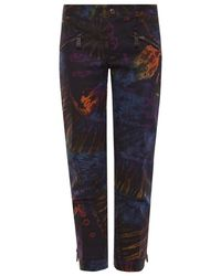 DSquared² Printed Jeans - Zwart