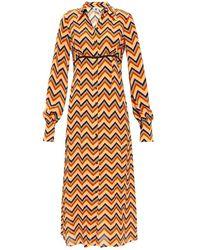 M Missoni Patterned Dress - Geel