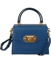 Dolce & Gabbana Crossbody Purse Welkom Tas - Blauw