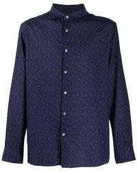 Ermenegildo Zegna Long Sleeve Shirt - Blauw