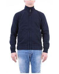 C.P. Company 09cmss312a005909g Sweatshirt With Zip - Blauw