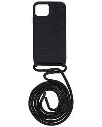 Balmain Iphone 12 pro case - Noir