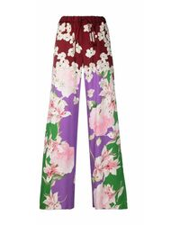 Valentino Trousers - Rood