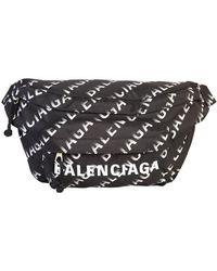 Balenciaga Branded Heuptas - Zwart
