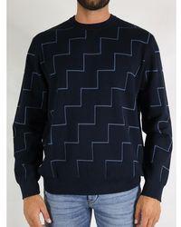 Armani Exchange Sweater Azul
