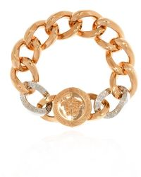 Versace - Bracelet with logo - Lyst