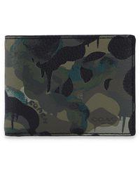 COACH Bi-fold Wallet - Groen