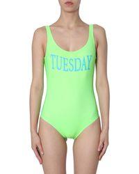 Alberta Ferretti Swimsuit - Vert