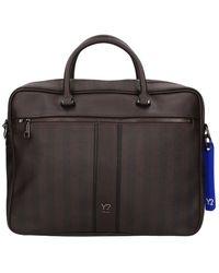 Y Not? 006f1 Briefcase - Braun
