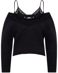 T By Alexander Wang Rib-knit sweater - Schwarz