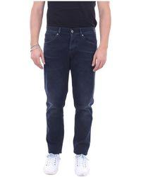 Dondup Up232ds0216ut25b Skinny Jeans - Blauw