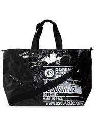 DSquared² Shopper Tas - Zwart