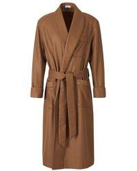Santa Eulalia Cashmere Dressing Gown - Bruin