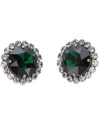 Alessandra Rich Jewelry Earrings Faba2372j004 - Groen