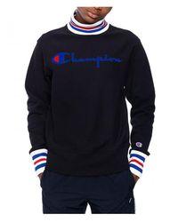 Champion - High Neck Sweatshirt - Lyst