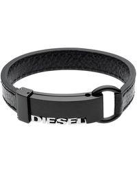 DIESEL Time Frames Dx0002 Bracelet - Zwart
