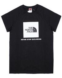 The North Face T-shirt - Zwart