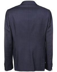 Z Zegna - Dress Azul - Lyst
