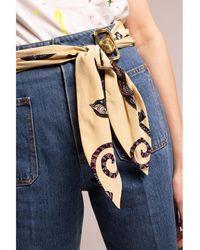 Lanvin High-waisted jeans - Bleu