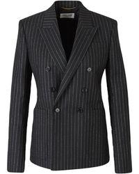 Steve Madden Metallic Striped Blazer - Zwart